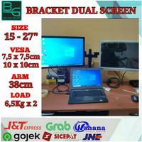 Bracket monitor 2 TV Adjustable