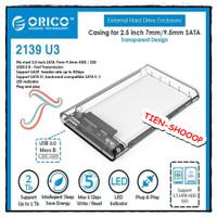 CASING HARDISK ORICO 2139U3 2.5 Inch USB 3.0 case external HDD / ssd