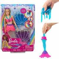 Barbie Dreamtopia Mermaid Slime tail doll boneka putri duyung ariel