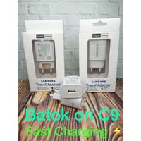 BATOK KEPALA CHARGER ORI 100% FAST CHARGING SAMSUNG C9 - BatokSamC9ORI
