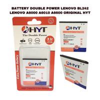 BATTERY DOUBLE POWER LENOVO BL242 A6000 ORIGINAL HYT
