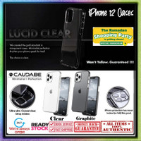 Case iPhone 12 Pro Max 12 Pro Mini Caudabe LUCID Ultra Thin Slim - 12 Pro Max, Clear