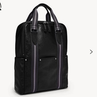 Fossil Houston Top Handle Backpack Black