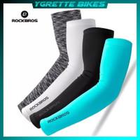YGRETTE - Rockbros Manset Lengan Outdoor Olahraga Sepeda Arm Sleve