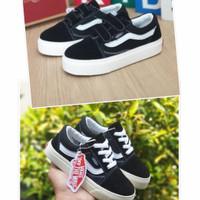Sepatu Anak Vans Oldskool OG Black White Grade Original Sepatu Sekolah