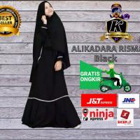 GAMIS Anak Perempuan ALIKADARA Baju Muslim Syar'i 9-12 TAHUN -HITAM