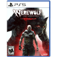 PROMO !! PS5 WEREWOLF THE APOCALYPSE EARTHBLOOD CD BD GAMES PS 5 ENG