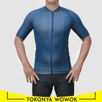 Jersey Baju Sepeda Roadbike RB Balap Pria Wanita Polos Impor Model 6