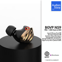 BGVP NS9 7BA+2DD Knowles Sonion/Liquid Silicone Hybrid Driver MMCX IEM