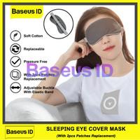 Baseus Sleeping Eye Cover Mask Thermal Penutup Mata Tidur Masker Pijat