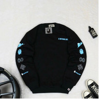 Sweater BASTERCOLD Original CREWNECK BAPE WGM SHARK RELAXED