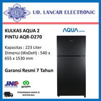Kulkas 2 Pintu Aqua AQR-D270
