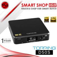 TOPPING D50s DSD Hi-Res Audio HIFI Decoder Multi Input Bluetooth DAC