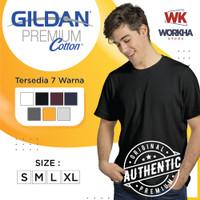 Kaos Polos Gildan PREMIUM COTTON 76000 100% Original