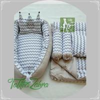 Paket babynest dan bedcover baby set bantal guling kado lahiran murah