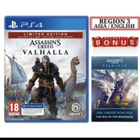 PS4 GAME ASSASIN CREED VALHALLA