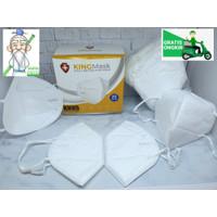 Masker KN95 KINGMASK KEMENKES Medis Surgical Mask Premium 1Box 20Pcs