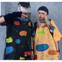 Kaos Dino T Shirt BTS Korea / Oversized BT21 Import baju wanita