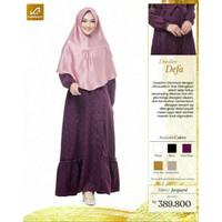 Rabbani Dresslim Defa Gamis Baju Muslim Wanita Dewasa