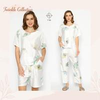 Baju Tidur GREET Piyama Organic Silk Model Oblong T-106