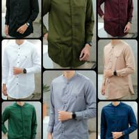 Baju Muslim Koko Lengan Panjang Toyobo Premium Size M & L