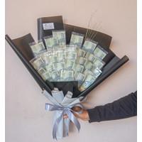buket uang asli 2 K