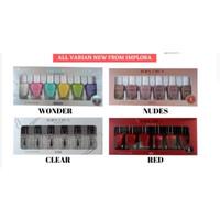 [6 pcs] IMPLORA Kutek New Varian - Wonder,Red,Nude,Clear