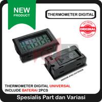 Thermometer Digital Suhu Ruangan Sensor Waterproof Termometer Probe