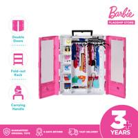 Barbie Fashionistas Ultimate Closet Accessory Portable - Mainan Lemari