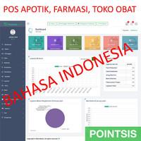 Software Aplikasi POS Apotik Farmasi Obat Lengkap Full Source PHP CI