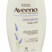 Aveeno Active Naturals Stress Relief Body Wash Lavender, Chamomile and