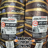 Ban Tubeless Belakang Corsa Platinum R93 120/60-17 Vixion New, CB150