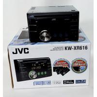 Head Unit JVC KW-XR616 Double Din MP3 USB Car Audio Tape Mobil