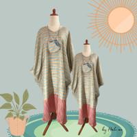 Baju Lebaran Wanita - Cotton Candy Kaftan - Biru Muda, Anak