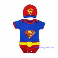 Baju bayi jumper bayi superman / jumsuit baby