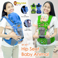 5in1 Gendongan Hipseat Bayi + Topi Pelindung Kepala BABY SCOTS BY-471