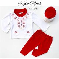 Koko Noah / Baju Koko Bayi / Baju Koko Anak / Baju Lebaran