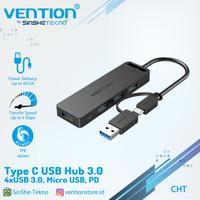 Vention Usb Hub Type C 3.1 USB 3.0 2.0 Multi Usb Micro Power Supply