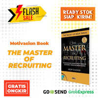 BUKU BISNIS - The Master of Recruiting [MLM LEADERS] 4.9