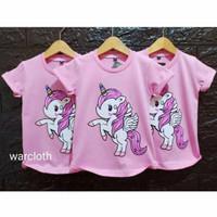 Kaos / Baju anak motif Kuda poni