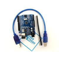 Arduino UNO R3 ATmega328 SMD + Pin Header + USB Cable