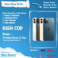 (RESMI) iPhone 12 Pro 128GB 256GB 512GB - Garansi Resmi IBOX 1 thn