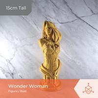 Wonder Woman Bust   Figures   Action Figure   3D Print Figure - Putih