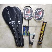 Raket Badminton Bulutangkis LiNing Li-Ning Murah Komplit Kualitas TOP