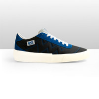 GMX x Sadega 2.0 Black Blue White | Sneakers Pria | Sepatu Pria