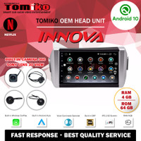 Head Unit Android TOMIKO OEM for Innova with Camera 360 Sony Lens