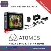 Atomos Ninja V Pro Kit 5 4K HDMI SDI 12G 6K RAW Monitor Recorder