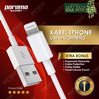 Kabel charger IPHONE- ORIGINAL 200% - 1 meter
