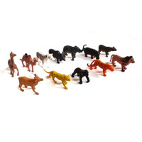 Mainan Figure Set Hewan Liar 12Pcs Nature Animal Binatang YX050