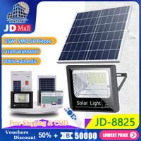 JD-8825 25W Solar Light Led Solar Lamp Floodlight Outdoor Lighting - 25W